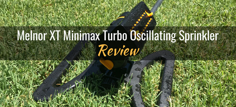 Melnor XT minimax turbo oscillating sprinkler featured image