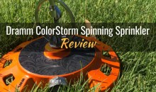 Dramm ColorStorm Spinning Sprinkler: Product Review