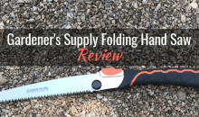 Gardener's Supply Folding Hand Saw: Product Review