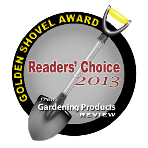 Gardening Products Review Golden Shovel Readers' Choice Award 2013