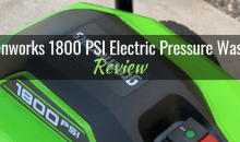 Greenworks 1800 PSI Electric Pressure Washer (GPW 1803): Product Review