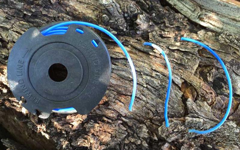 Greenworks 24V Cordless String Trimmer 21342 Spool and Broken Line