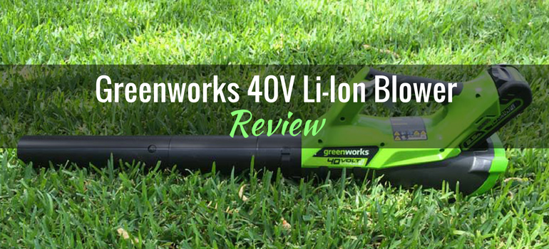 Greenworks 40V Li-Ion Blower