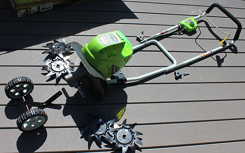Greenworks Cultivator Assembly