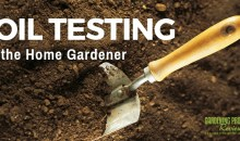 Soil Testing for the Home Gardener