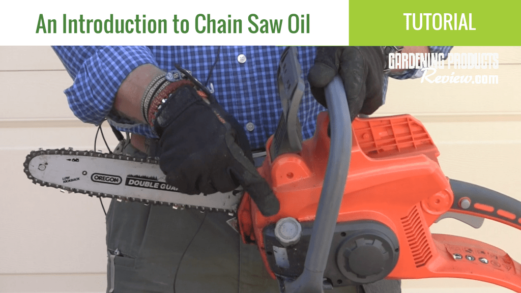 Introduction to Chainsaw Oil