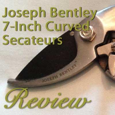 Joseph Bentley 7-Inch Secateurs Review