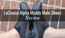 LaCrosse Alpha Muddy Mule Shoes: Product Review