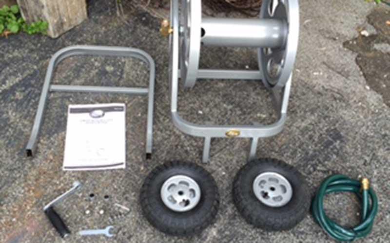 Liberty Garden Hose Cart