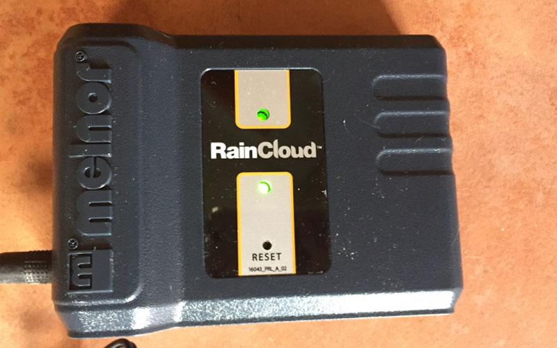 Melnor raincloud control unit