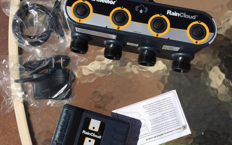Melnor raincloud valve unit