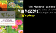 Mini Meadows: Grow a Little Patch of Colorful Flowers Anywhere in Your Yard, by Mike Lizotte – Book Review