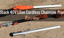 Redback 40V Lithium Ion Cordless Pole Chainsaw (106070): Product Review