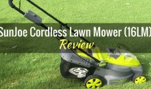 SunJoe Cordless Lawn Mower (16LM): Product Review