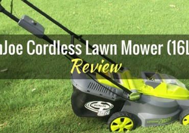 SunJoe Cordless Lawn Mower 16LM Featured