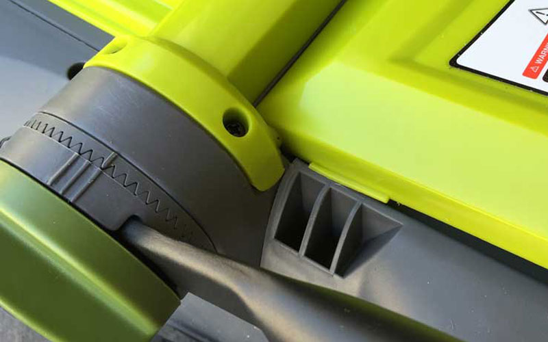 SunJoe Cordless Lawn Mower Handle Lock