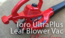 Toro UltraPlus Electric Leaf Blower Vac (51621): Product Review