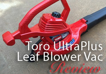 Toro UltraPlus Leaf Blower Vac-Review