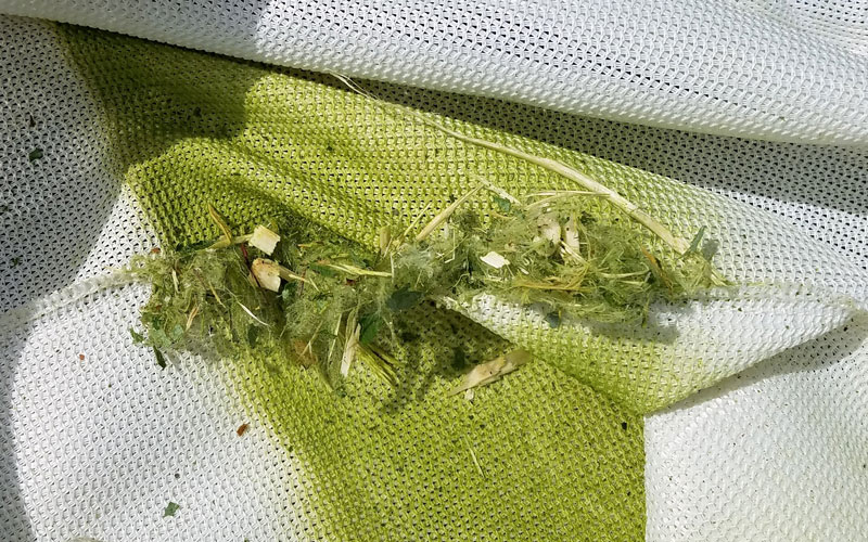 Troy-Bilt Chipper Shredder chipper bag damage