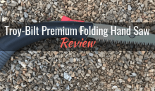 Troy-Bilt Premium Folding Hand Saw (RE-K): Product Review