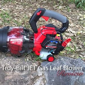 Troy-Bilt JET Gas Leaf Blower (TB2MB): Review