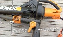 WORX TriVac 3-in-1 Leaf Blower / Mulcher / Vacuum (WG502) Review