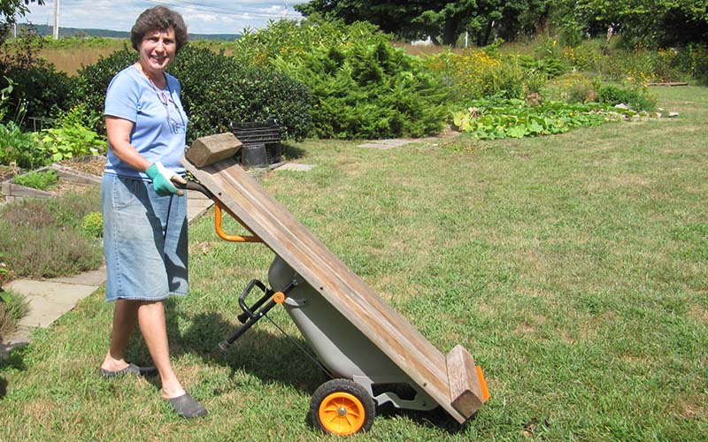 WORX AeroCart moves large items