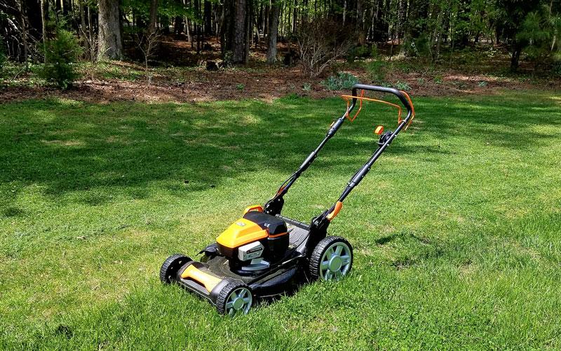 yard force 120v mower