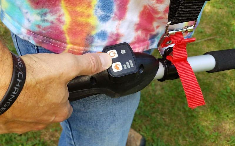 Yard-Force-120v-string-trimmer-control-panel
