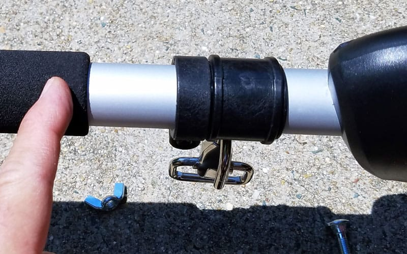 Yard-Force-120v-string-trimmer-handle-goes-here