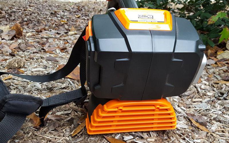 Yard Force Blower back vent