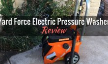 Yard Force Electric Pressure Washer (YF1800LR): Product Review