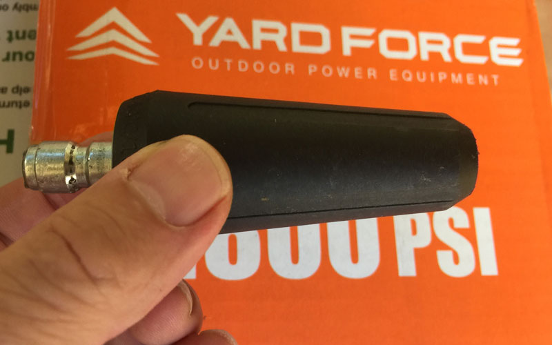 Yard Force Pressure Washer turbo nozzle
