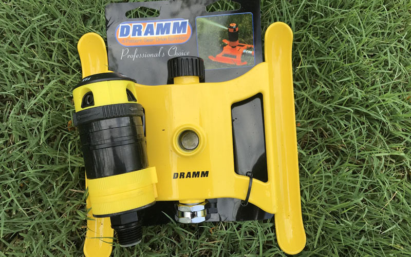Dramm 4 pattern sprinkler packaging
