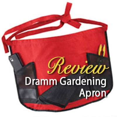 Dramm ColorPoint Gardening Apron review