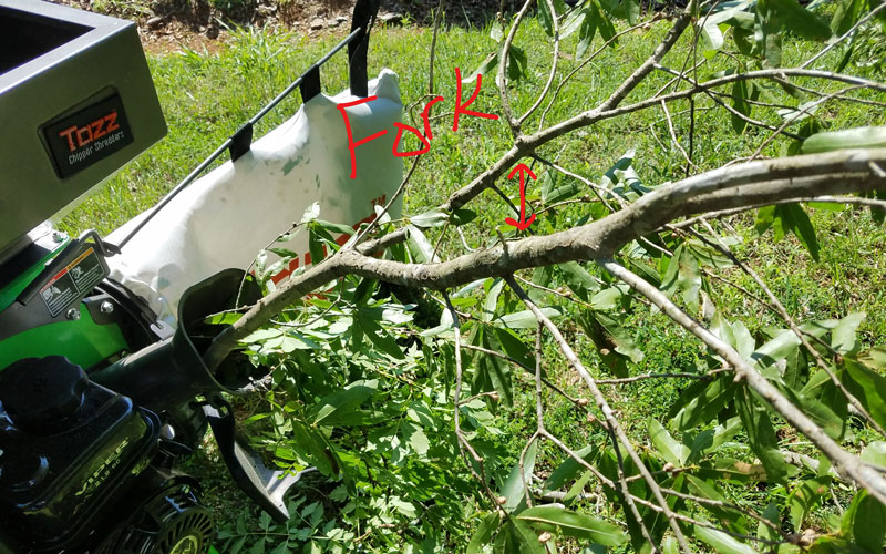 earthquake-tazz-chipper-shredder-forked-branch