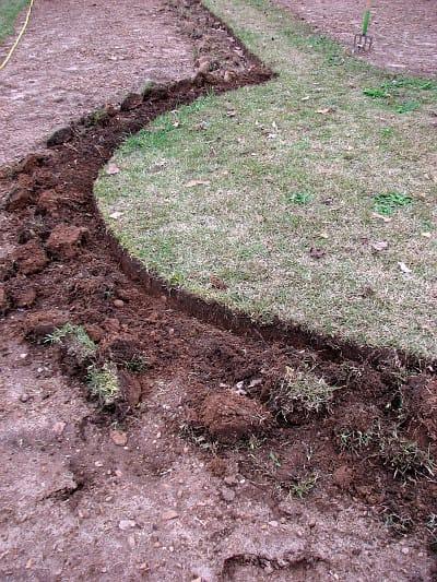 R adius Garden PRO Edger results circle
