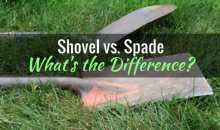 Shovel vs. Spade: What's the Difference?