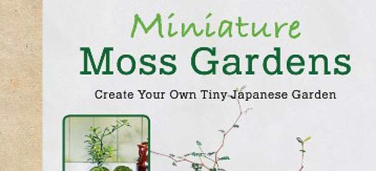 cover of Miniature Moss Gardens book