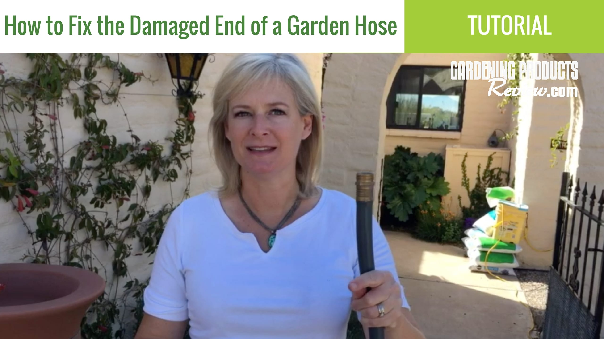 How to Repair the Damaged End of a Garden Hose - Gardening Products Review  sc 1 st  Gardening Products Review & How to Repair the Damaged End of a Garden Hose - Gardening Products ...