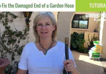 repair damaged end garden hose