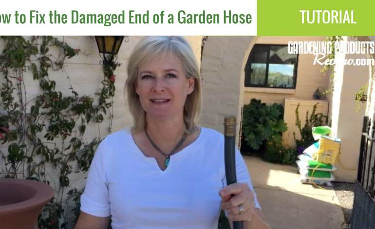 repair damaged end garden hose