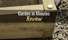 Garden in Minutes Raised Bed Kit & Watering Grid: Product Review