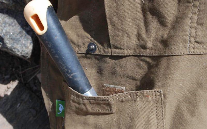 gardeners supply split apron velcro pocket
