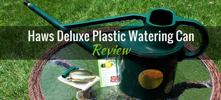 Haws Deluxe Plastic Watering Can