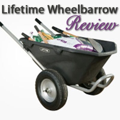 Lifetime Wheelbarrow Review