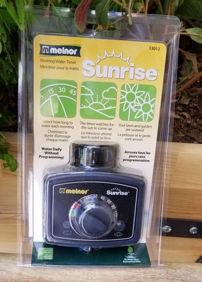 Melnor sunrise package