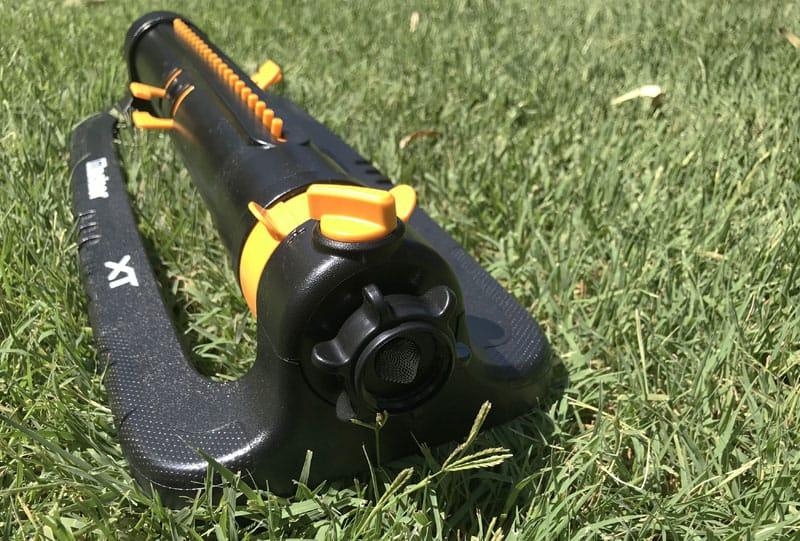 Melnor XT Turbo Oscillating Sprinkler hose connector