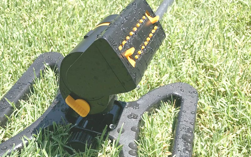 Melnor MiniMax sprinkler flow control dial