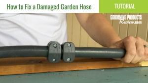 repair damaged garden hose